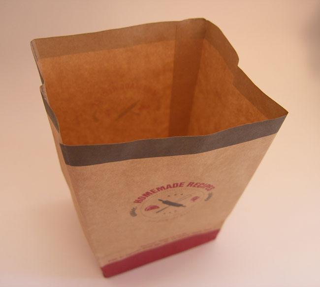 Túi giấy Kraft đựng bánh mì kích thước: 100 – 80 – 170mm