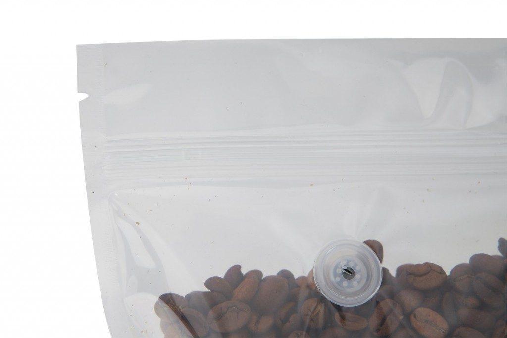 van hơi 1 chiều, nẹp giấy túi cà phê chuyên dụng